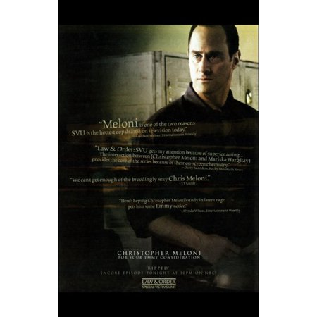 Law   Order Special Victims Unit Movie Poster  11 X 17