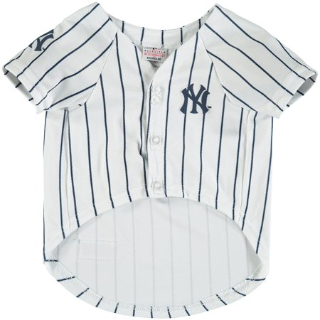 Pirate Skull Baseball Jersey - New York Yankees MLB Dog Jersey