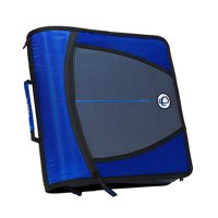 Mighty Zip Tab O-Ring Binder with Tabs - Blue, 3 in.