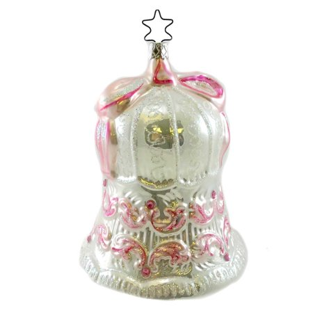 - Inge Glas BIRGITS BELL Blown Glass Wedding Ornament 233106