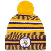 Minnesota Vikings New Era Youth 2019 NFL Sideline Home Reverse Sport Knit Hat - Gold - OSFA