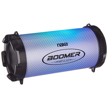 Naxa NAS-3087 Boomer Impulse Flash Bluetooth Boom Box with LED Lights - image 2 de 4