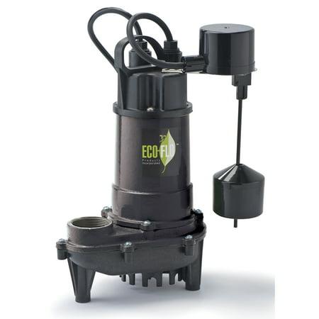 Flex Flo Pump - Eco Flo ECD50V 1/2 HP Submersible Sump Pump