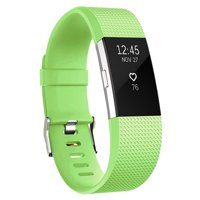 Bands Compatible with Fitbit Charge 2,Black,Small,Green