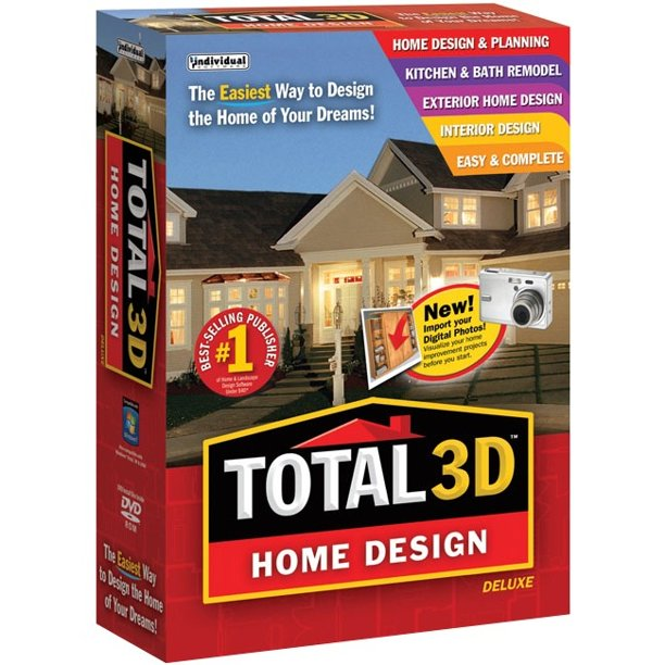 Total 3d Home Design Deluxe Build Home Of Your Dreams Individual Software 018527109137 Walmart Com Walmart Com