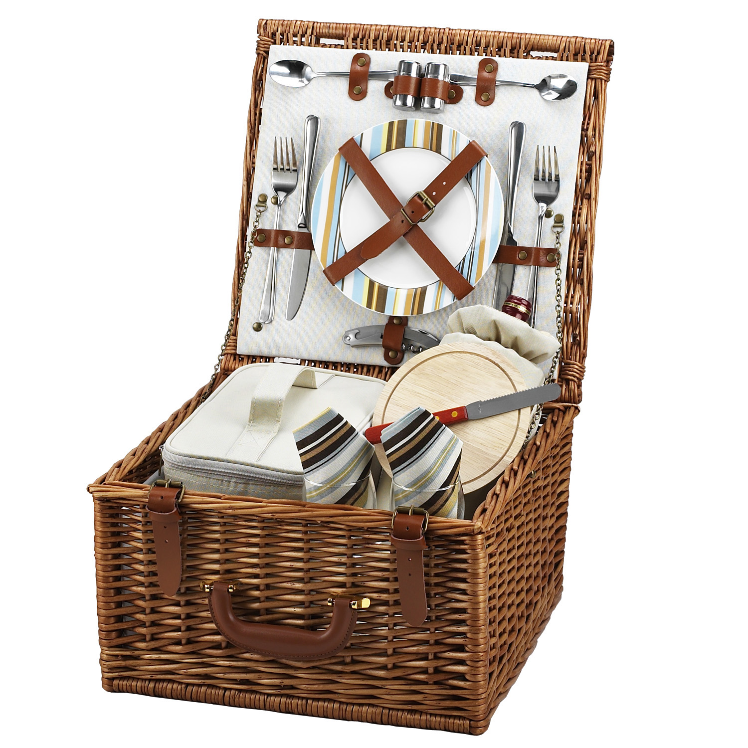Picnic At Ascot Cheshire Basket for Two in Santa Cruz