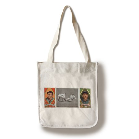- Cleveland Naps - Neal Ball/Geo. T. Stovall - Baseball Card (100% Cotton Tote Bag - Reusable)