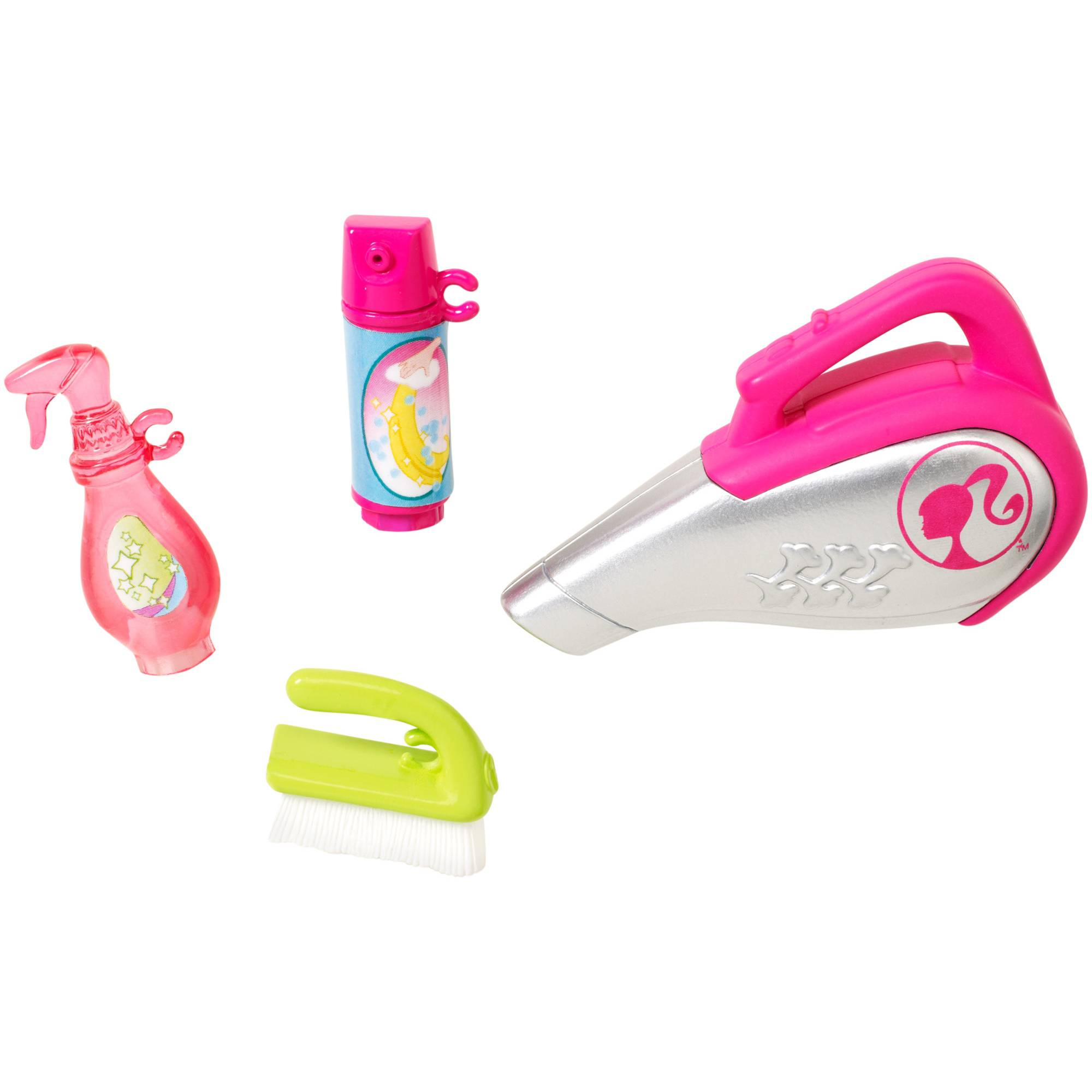 Barbie Mini Accessory Set, Cleaning Pack