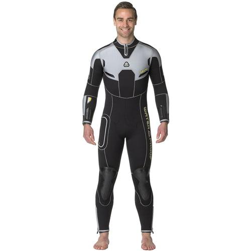 Waterproof W4 7mm Men's Back Zip Full Wetsuit (X-Small)