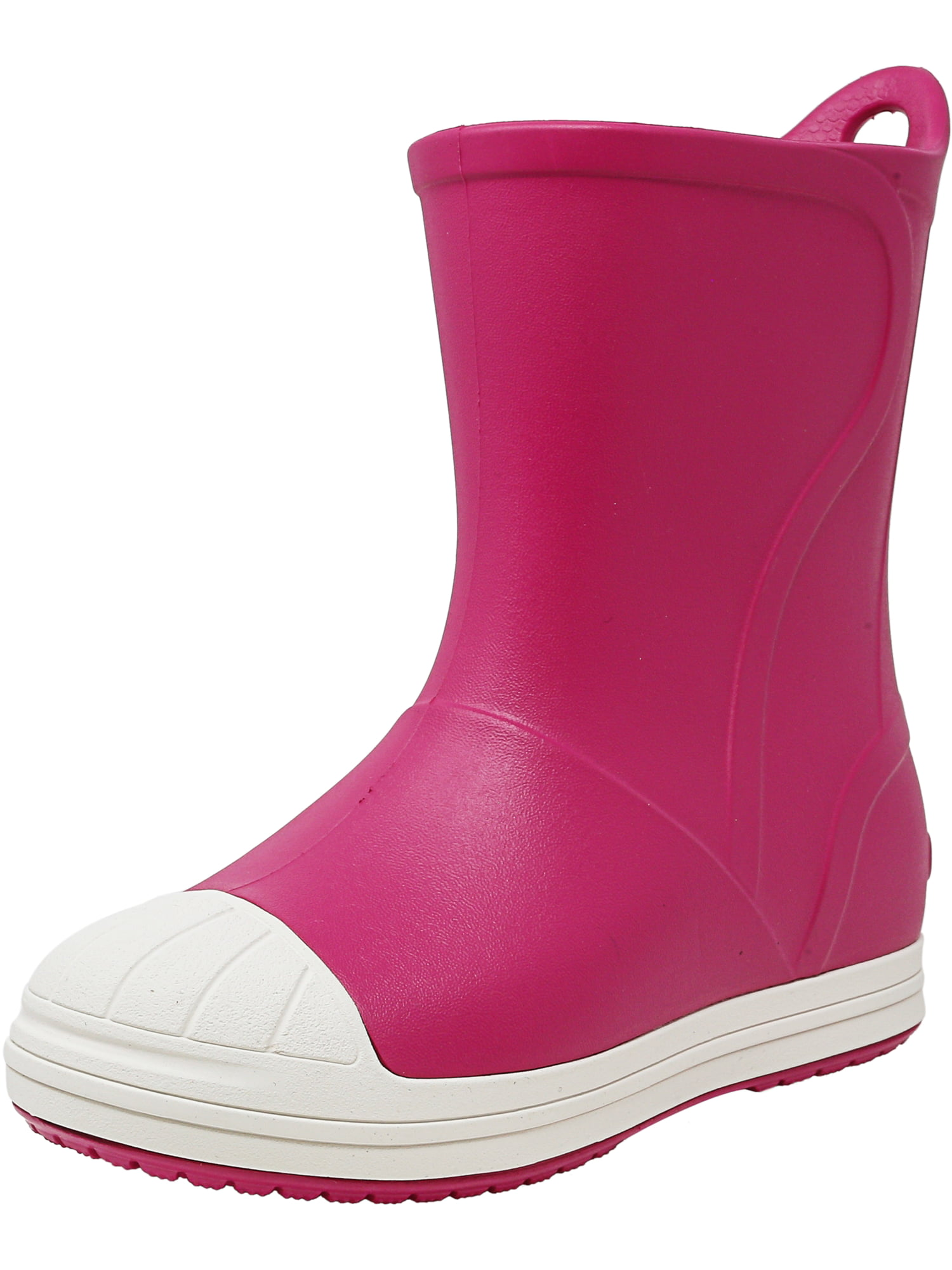 Crocs Bump It Boot Candy Pink   Oyster Mid-Calf Rain 13M by Crocs