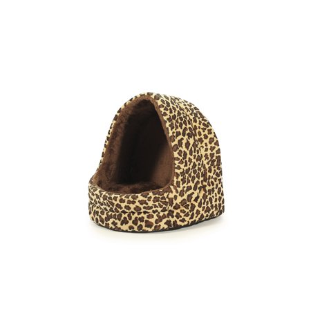 Super Cozy Cave Pet Bed - Cheetah