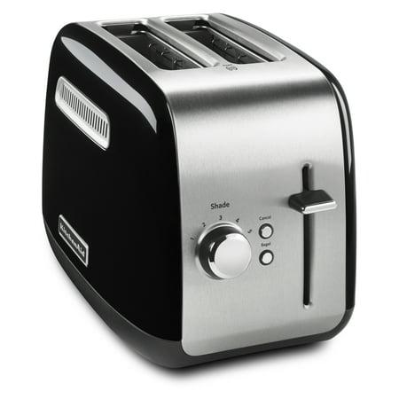 KitchenAid® 2-Slice Toaster with manual lift lever, Onyx Black (KHM512ER)