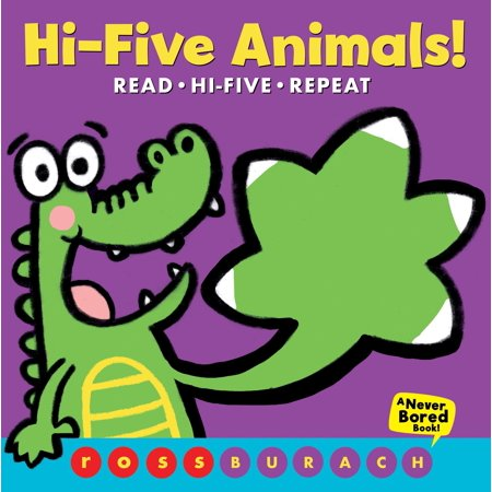 Hi-Five Animals! (Board Book)