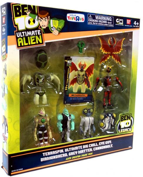 Ben 10 Ultimate Alien Creation Chamber Action Figure Set by