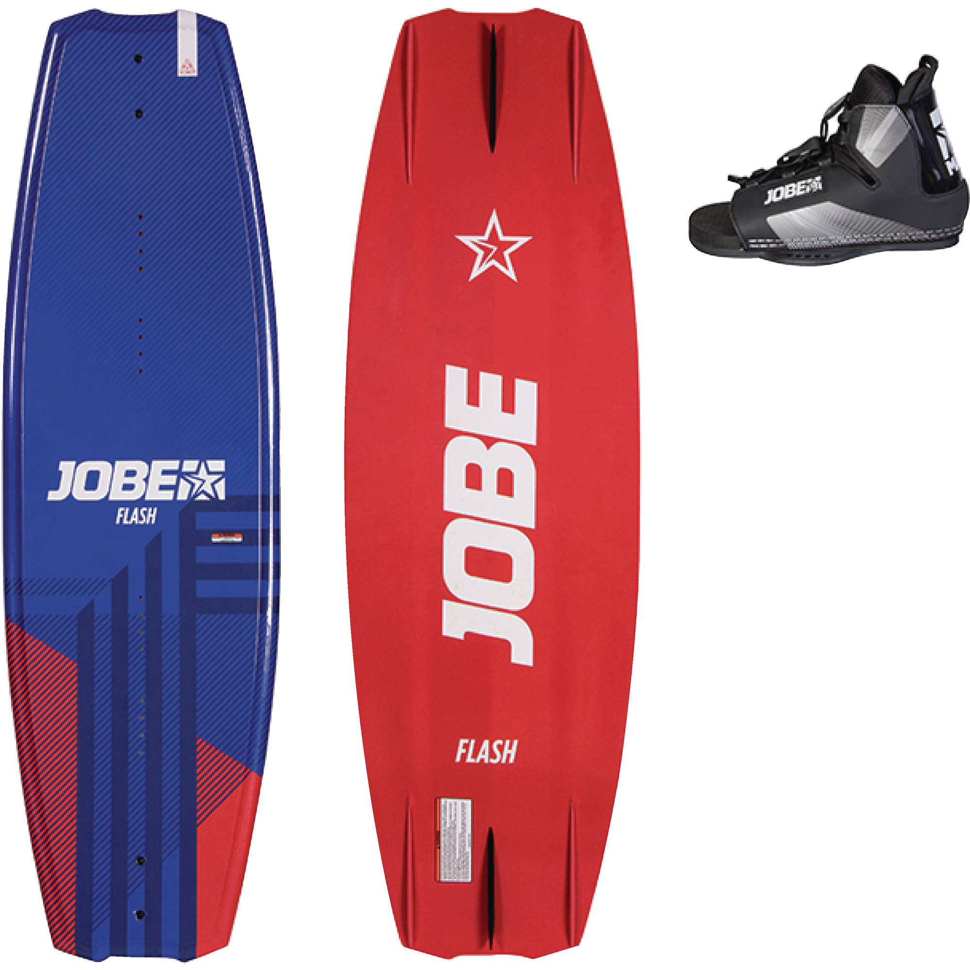 Jobe 278917801 Flash 138 3-Stage Rocker & Integrated Fins Wakeboard Package by Jobe Sport International