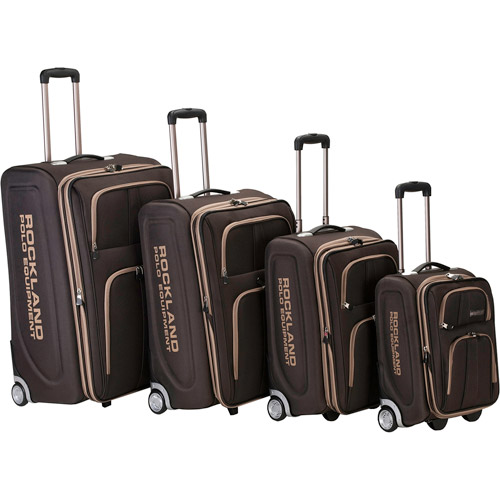 Rockland Luggage Varsity 4-Piece Expandable Luggage Set