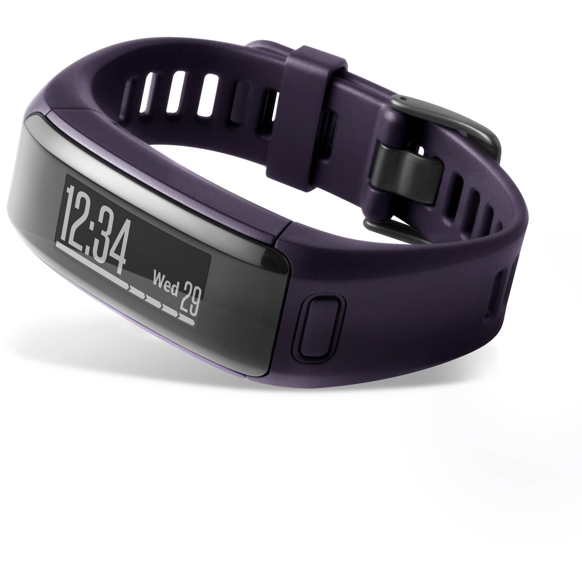 Garmin vivosmart HR, Regular fit, Imperial Purple