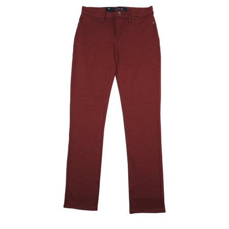 Calvin Klein Womens Size 4 Stretch Ponte Pants, Sauvignon