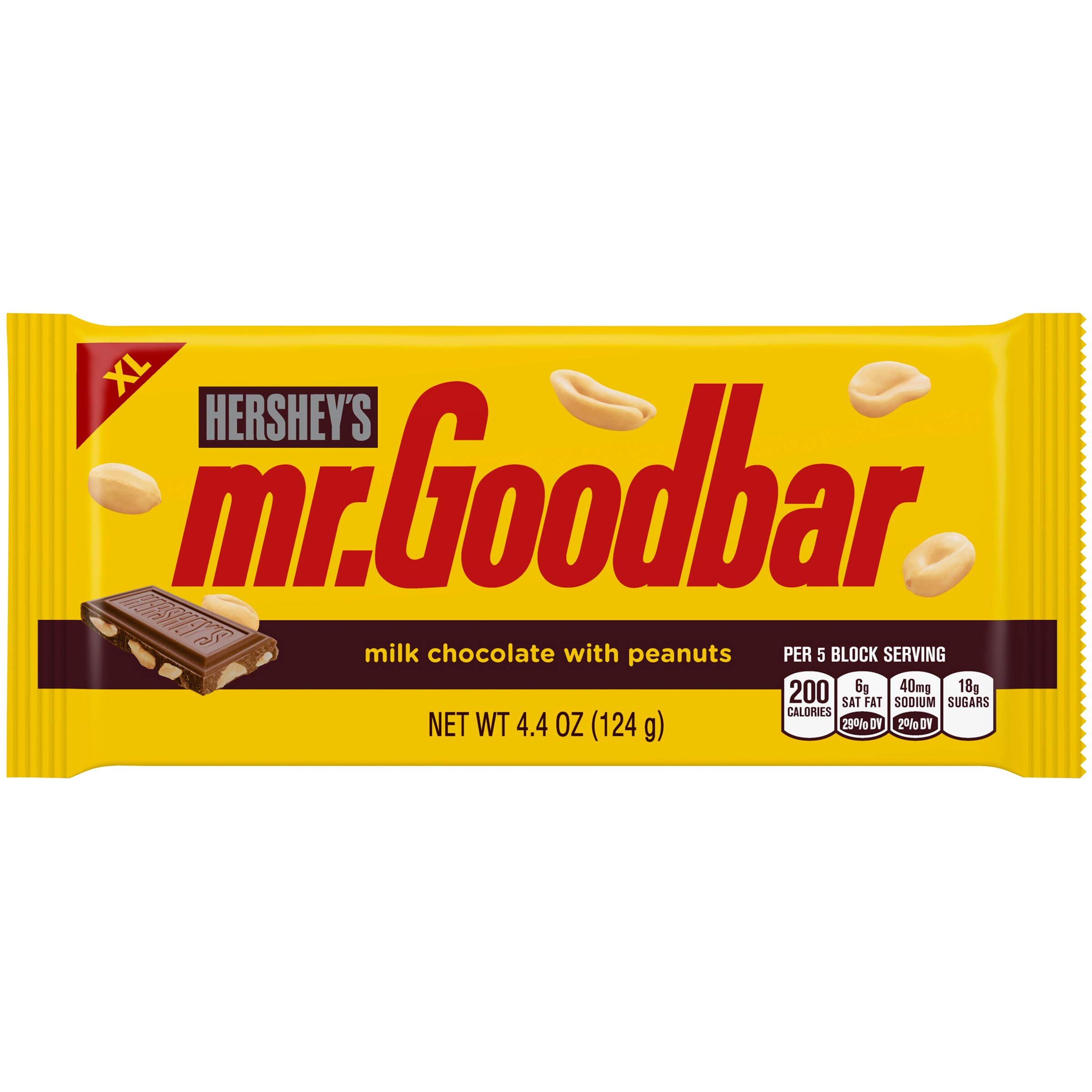 MR. GOODBAR Extra Large Milk Chocolate Bar, 4.4 oz