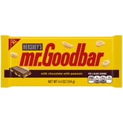 Hershey's Mr. Goodbar Extra Large Milk Chocolate with Peanuts Candy Bar, 4.4 Oz.