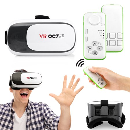 how to connect virtual reality goggkes to samsung phone