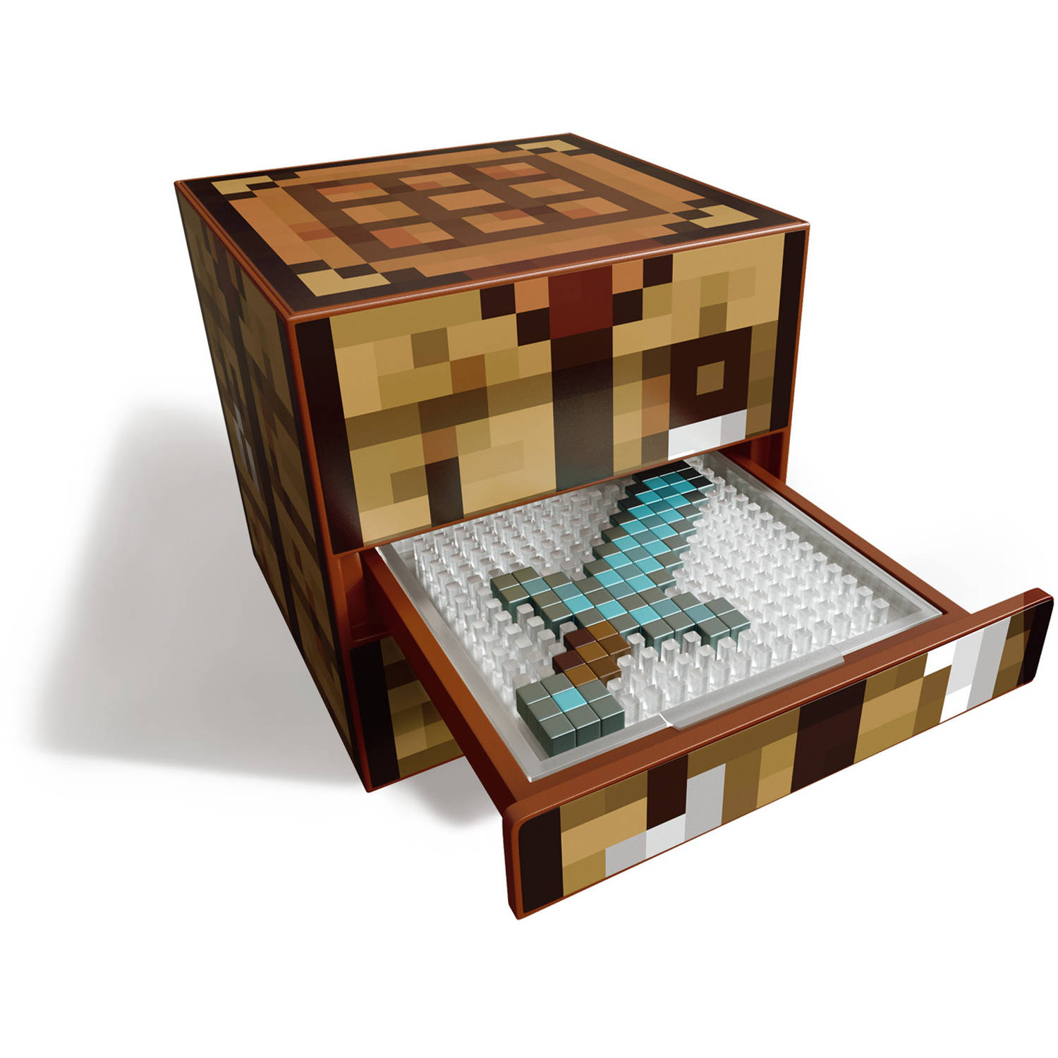 minecraft crafting table real life