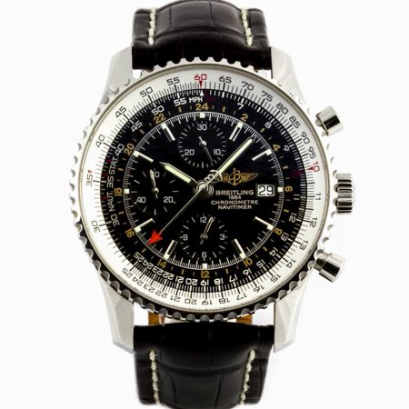 Pre Owned Breitling Navitimer A24322 Steel Watch Certified Authentic Warranty