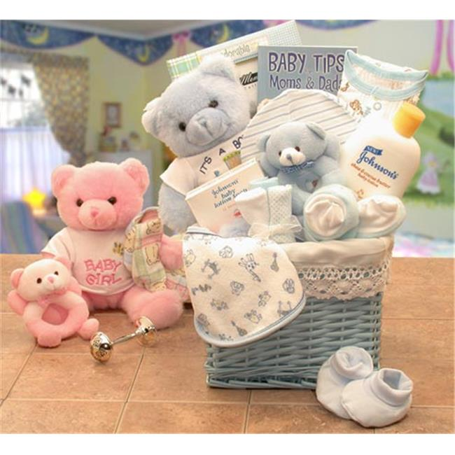 Gift Basket Drop Shipping 890172-B Sweet Baby of Mine New Baby Basket - Blue
