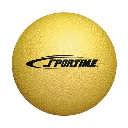 School Smart 5   Playground Ball  Yellow
