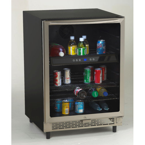 Avanti Products 5.1 cu. ft. Beverage Center with Glass Door