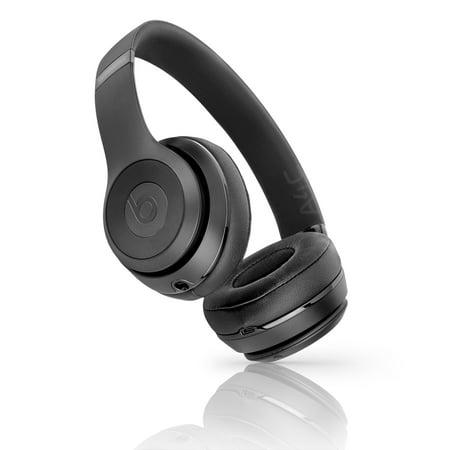4cb0e41579f (Refurbished) Beats Solo 3 Wireless On-Ear Headphone - A1796 (MP582LL/A) -  Matte Black - Walmart.com