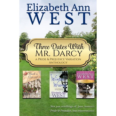 Three Dates with Mr. Darcy - eBook