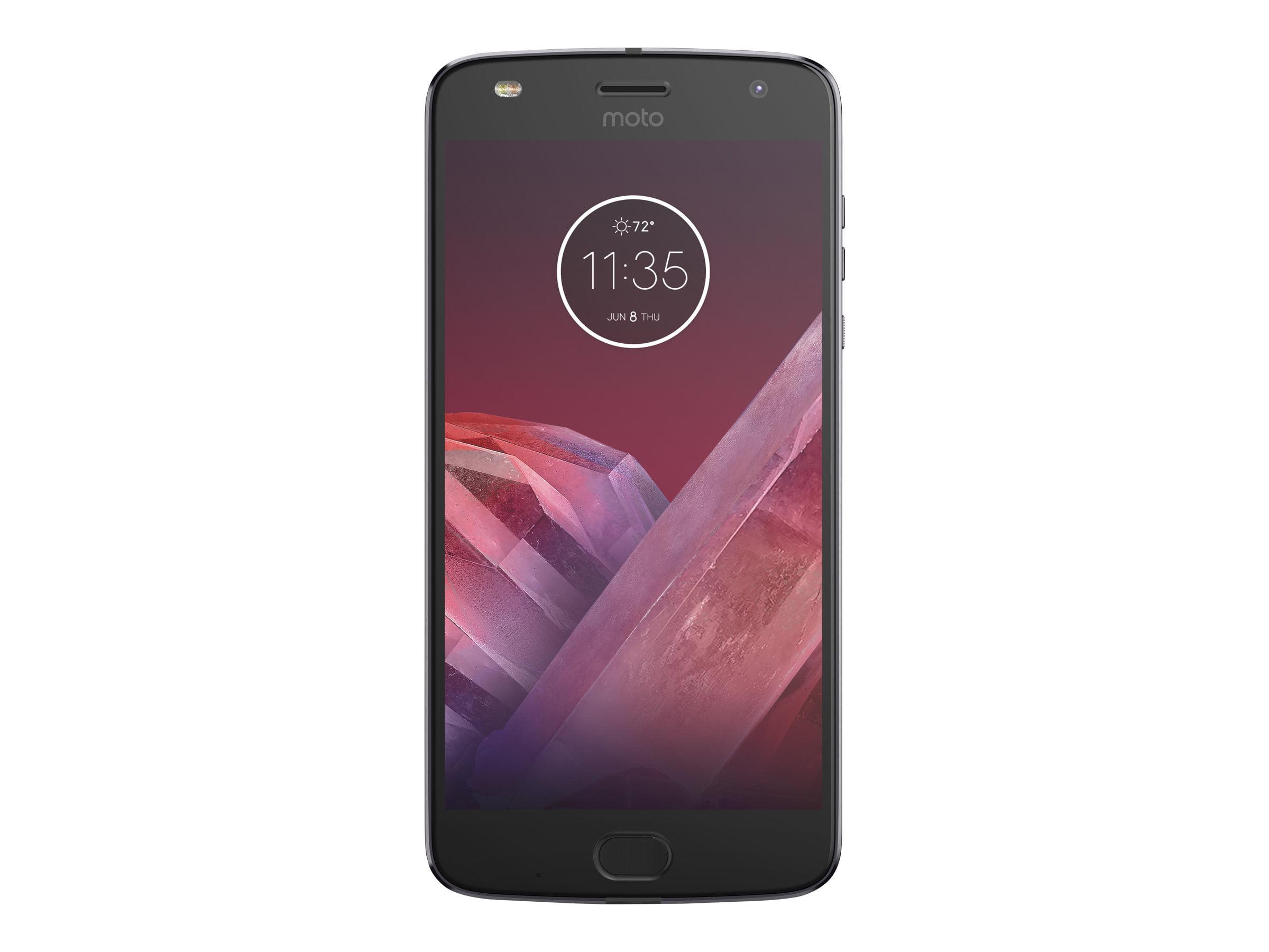 Virgin Mobile Motorola Moto E4 16GB Prepaid Smartphone, Black