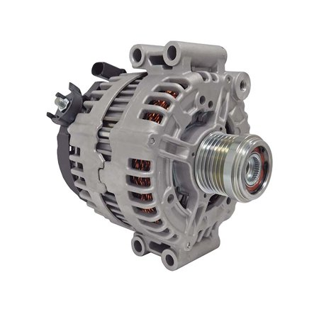 New Alternator For BMW Truck X5 3.0L 2007 2008 2009 2010 183 Amp, 7 Groove Pulley, With Rear AC 0121715018,