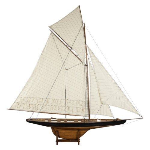 Authentic Models American's Cup Columbia 1901 Yacht - Large