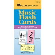 Music Flash Cards - Set a: Hal Leonard Student Piano Library (Paperback)