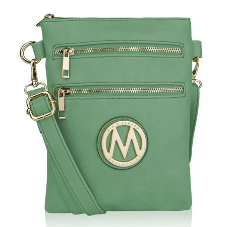 - MKF Collection Medina Vegan Leather Fashion Crossbody by Mia K. Farrow
