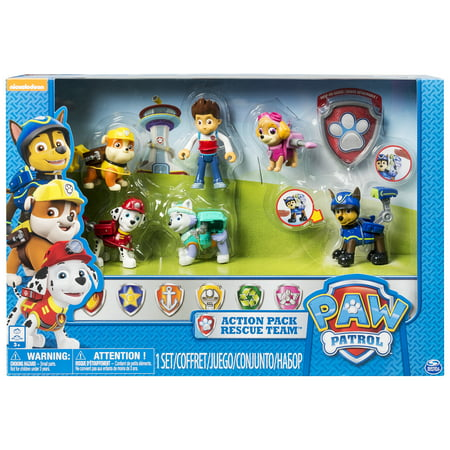 Paw Patrol Action Pack Rescue Team, Walmart Exclusive](Paws Gru)
