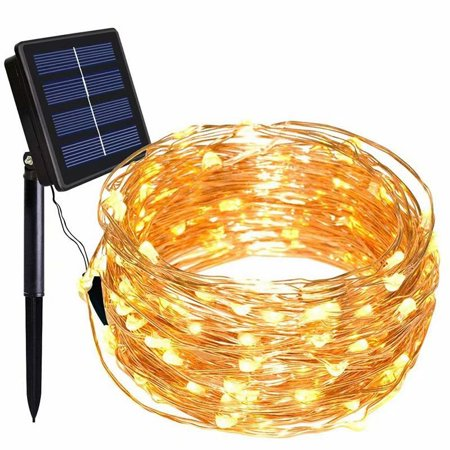 200 LED 72ft Solar String Lights 8 Modes Solar Powered Copper Wire Fairy Lights IP65 Waterproof Indoor Outdoor Lighting for Home, Garden, Party, Path, Lawn, Wedding, Christmas, DIY Decoration