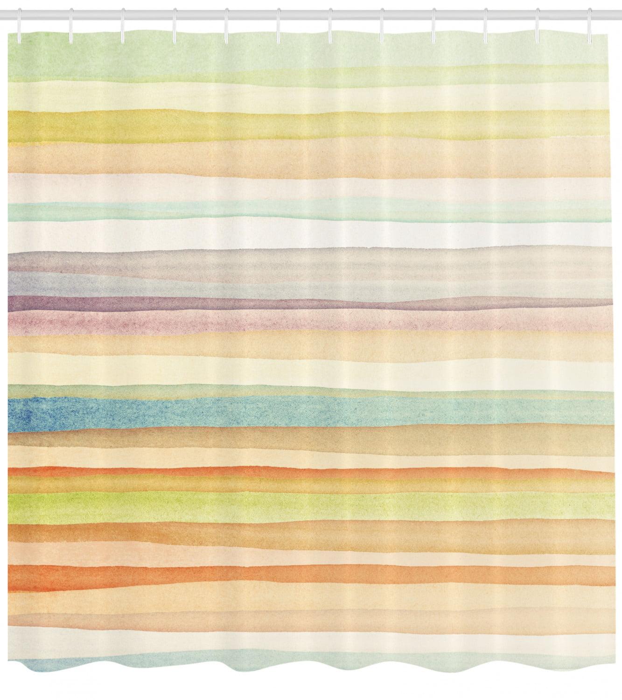 Pastel Shower Curtain Horizontal