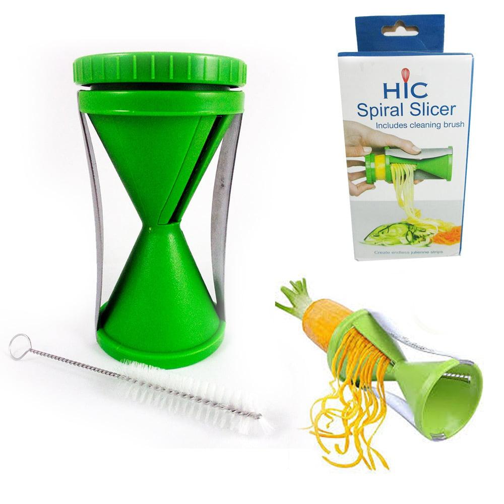 Spiral Vegetable Slicer Fruit Cutter Peeler Kitchen Spiralizer Twister Tool New