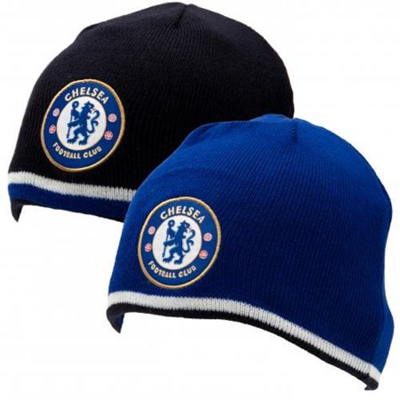Chelsea FC - Authentic EPL Reversible Knitted Hat - (Reversible Player Knit)
