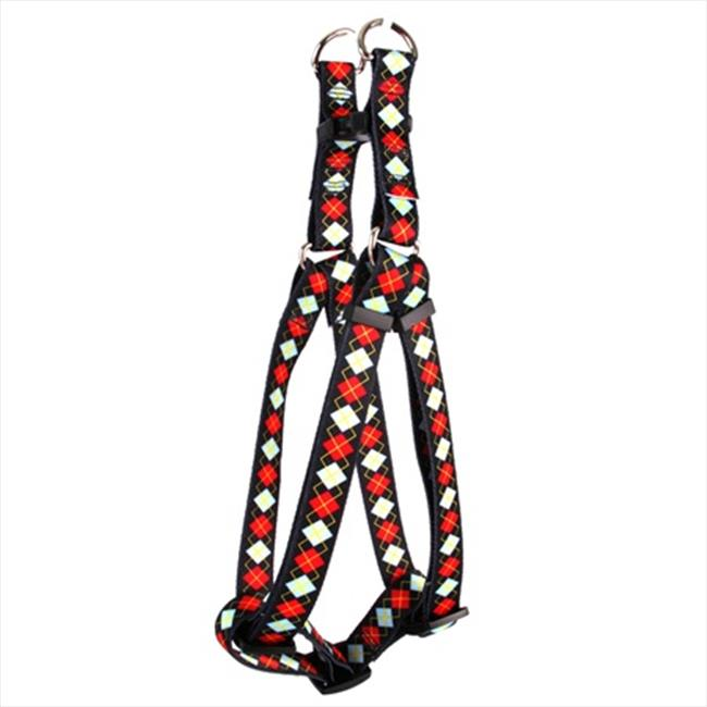 Yellow Dog Design Argyle Step-In Harness