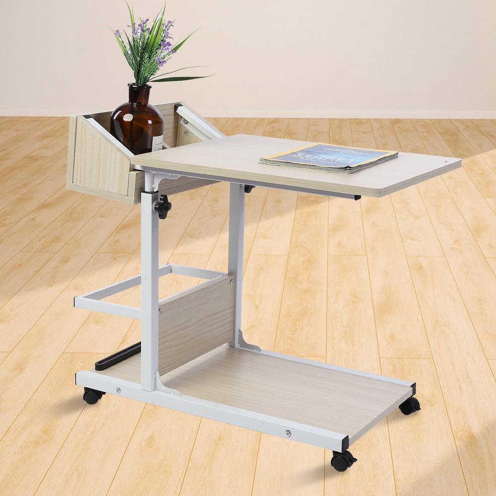 YLSHRF Laptop Desk with Wheels,Removable Laptop Desk,Portable Multifunctional Removable Laptop ...