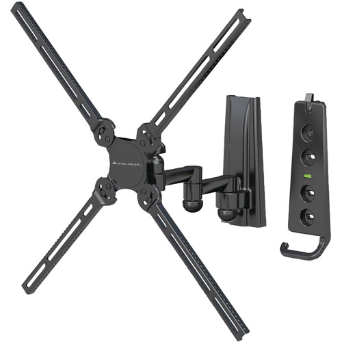 "Level Mount LM37DJ 10""-47"" Dual-Arm, Full-Motion Plus Flat Panel Mount"