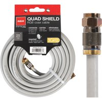 RCA 25' Digital Series Digital Quad RG-6 Coaxial Cable