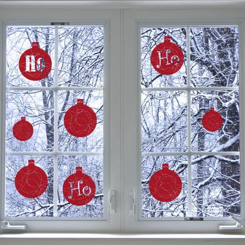 ADZif Christmas Ho Ho Ho Window Sticker