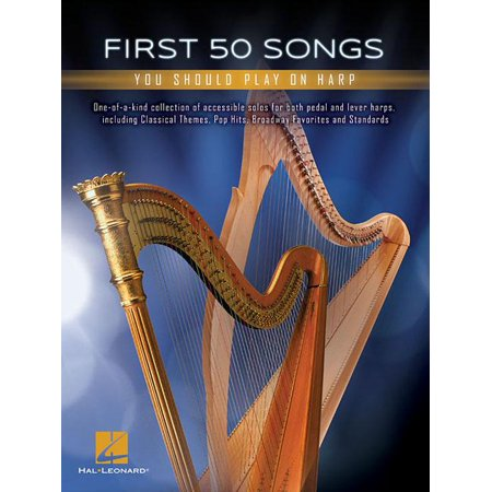 First 50 Songs You Should Play on Harp (Paperback) (First Harp Book)