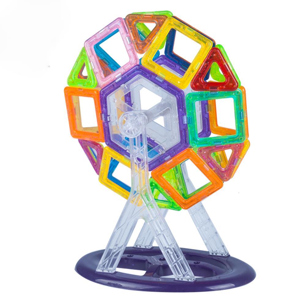 Lightahead 58PCS Mini Magnetic Designer Construction Set Educational Stacking Kit For Kids... by Lightahead%3F