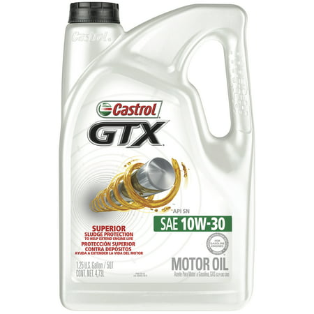Devices Conventional - Castrol GTX 10W-30 Conventional Motor Oil, 5 QT